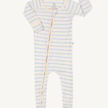 BOODY BABY STRIPE LONG SLEEVE  ONESIE – ORGANIC BAMBOO