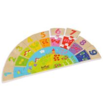 Boikido Rainbow Numbers 36+ Months Wooden Toy