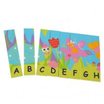 BOIKIDO ECO FRIENDLY DOUBLE SIDED ALPHABET PUZZLE