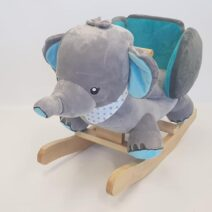 NATTOU ELEPHANT ROCKER – BLUE