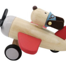 KAPER KIDZ RETRO MD PLANE WITH CUTE DOG DRIVE