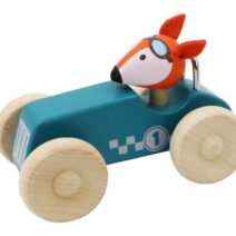 KAPER KIDZ RETRO MD RACING CAR WITH CUTE FOX
