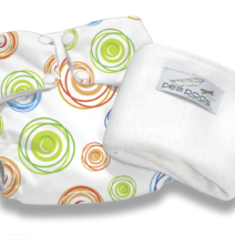 Pea Pods Reusable Nappies – Swirl Print