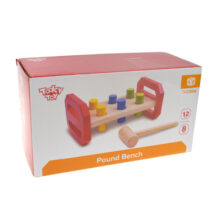 TOOKY TOY WOODEN HAMMER BENCH