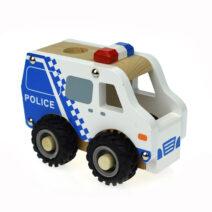 KOALA DREAM WOODEN POLICE CAR