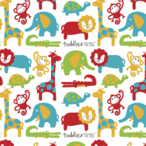 TODDLER TINTS – ZOO FRIENDS