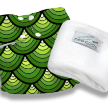 Pea Pods Reusable Nappies – Dragon Scales