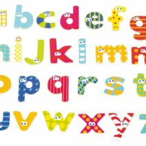 BOIKIDO MAGNETIC LETTERS SET – LOWER CASE LETTERS 59 PCS
