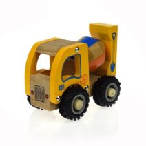 Koala Dream Wooden Vehicle Cement Truck