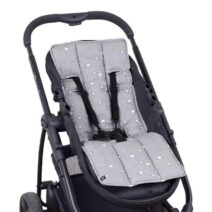 OUTLOOK BABY PRAM LINER – GREY STARS