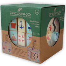 DISCOVEROO 5-IN-1 OCEAN ADVENTURE MINI ACTIVITY CUBE
