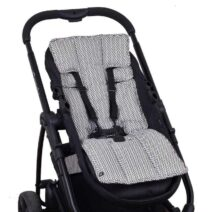 OUTLOOK BABY PRAM LINER – CHARCOAL AZTEC