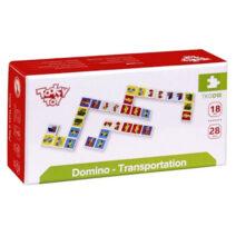 TOOKY TOY DOMINO – TRANSPORTATION