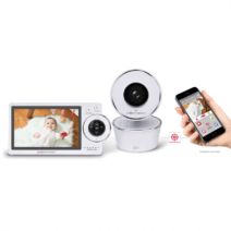 PROJECT NURSERY 5″ HD DUAL CONNECT WIFI VIDEO BABY MONITOR