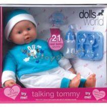 DOLLS WORLD  TALKING  Tommy