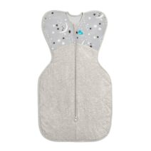 Love To Dream SwaddleUp 3.5 Extra Warm Grey Moon and Stars