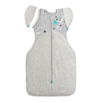 Love To Dream Swaddle Up Transition Bag 3.5Tog Extra Warm. Grey