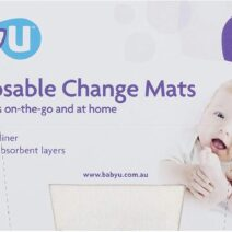Baby U Disposable Change Mats, 10 PACK