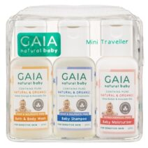 Gaia Natural Baby Mini Traveller 50ml 3pk Kit