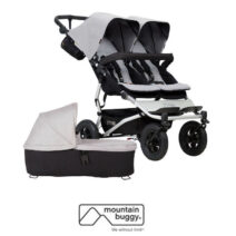MOUNTAIN BUGGY DUET V3 Incl CARRYCOT PLUS X1