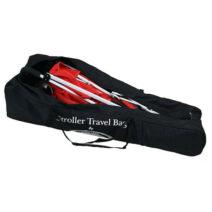 Valco Baby Black 108cm Universal Stroller Travel Padded Bag/Carry/Cover Black