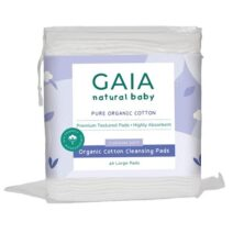 Gaia Natural Baby Organic Cotton Cleansing Pads X 40