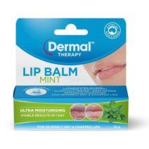 Dermal Therapy Lip Balm Mint 10g