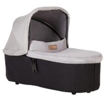 MOUNTAIN BUGGY CARRYCOT PLUS FOR SWIGT/MINI – SILVER