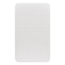 Little Turtle Baby Cot Fitted Sheet Jersey WHITE with BLACK DOTS