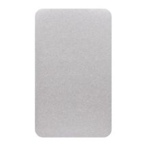 LITTLE TURTLE BABY CHANGE MAT COVER / JERSEY GREY MARLE