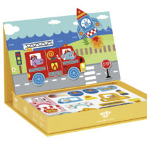 TOOKY TOY MAGNETIC BOX-TRANSPORTATION